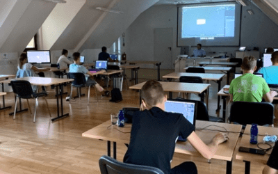 Delavnica 3D modeliranja in animacije za Rokodelski center Ribnica
