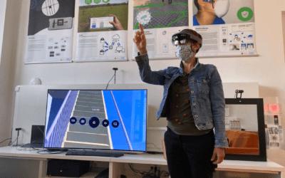 Delavnica o AR / VR tehnologiji za AKOS