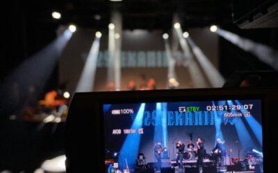 Snemanje koncerta Izštekanih 10